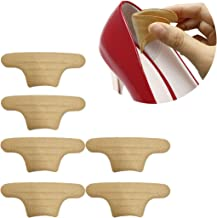 Non Slip Heel Cushion Inserts - 3 Pairs Heel Grips Pads - High Heel Inserts Adhesive Back of Heel Cushions - Heel Protectors & Heel Pain Relief - Blister Prevention for Women and Men