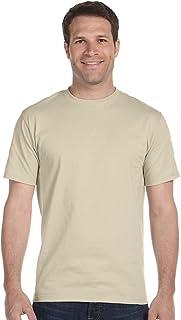 Men's 5.2 oz Hanes HEAVYWEIGHT Short Sleeve T-shirt, Sand, X-Large
