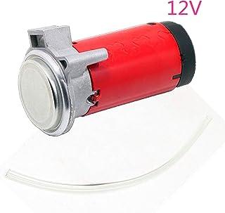 kit de pompe /à air 12V YIYIDA Klaxon de voiture compresseur dair noir accessoires de sifflet de train de camion de camion de klaxon super fort avec tuyau moteur /électromagn/étique /électrique