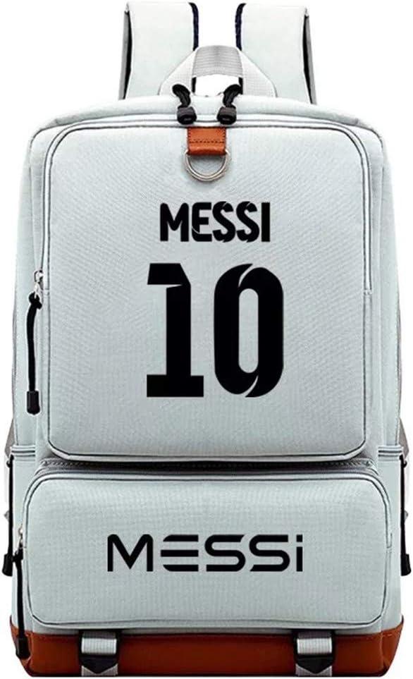 Kids Students Back to School Bookbag Daypack-Lionel Messi Backpack for School,Travel,Outdoor