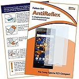 mumbi Schutzfolie kompatibel mit Sony Xperia XZ1 Compact Folie matt, Bildschirmschutzfolie (2X)