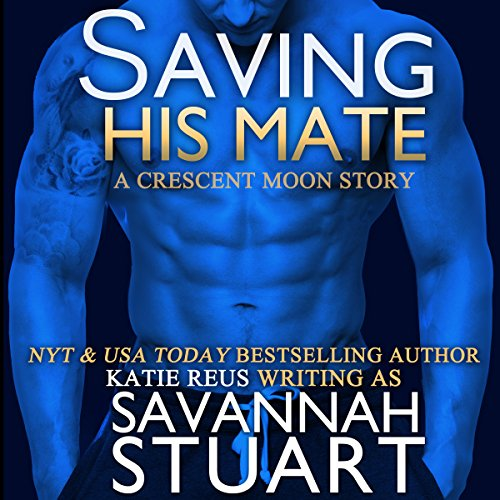 Saving His Mate audiobook cover art
