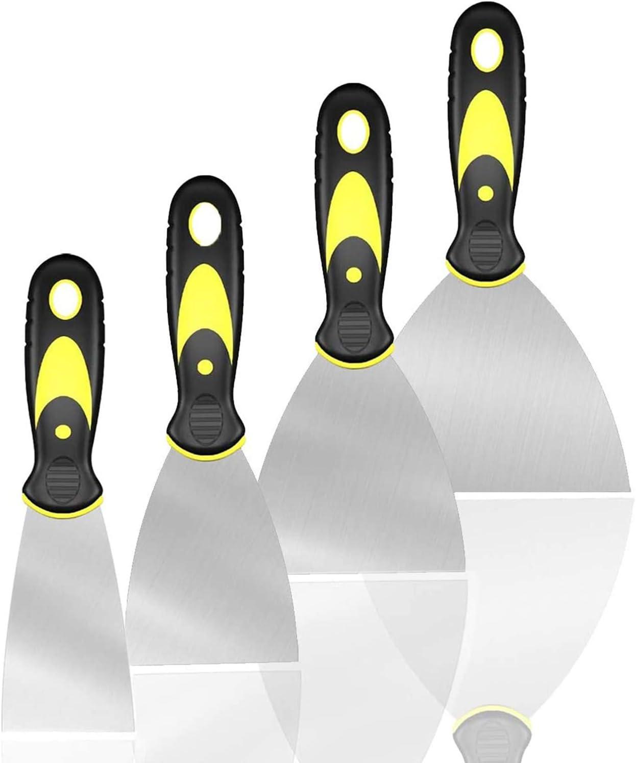 4 Pack Putty Knife Scrapers Set 2
