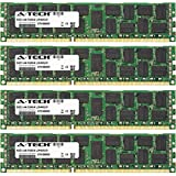 A-Tech 64GB KIT (4 x 16GB) for Dell Precision Workstation Series T3600, T3610, T5600. DIMM DDR3 ECC Registered PC3-12800 1600MHz Dual Rank Server RAM Memory