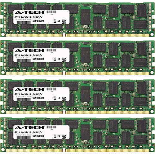 32GB KIT (4 x 8GB) for SuperMicro X8 Series Super X8DTU-F, Super X8DTU-6F+, Super X8DTU-6TF+. DIMM DDR3 ECC Registered PC3-8500R 1066MHz Quad Rank Server Ram Memory. Genuine A-Tech Brand.