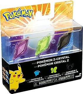 Pokemon Z-Ring Ghostium Z, Buginium Z & Darkinium Z Crystal 3-Pack