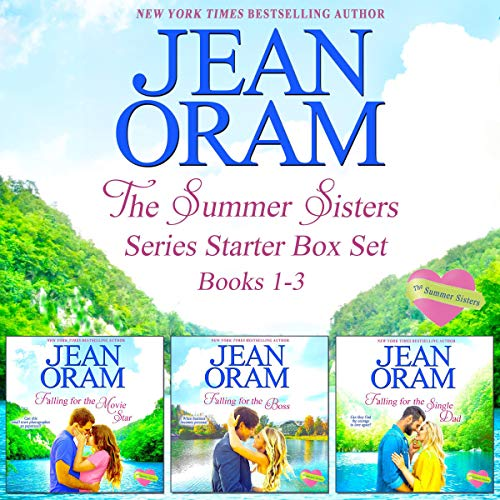 The Summer Sisters: Series Starter Box Set (Books 1-3): Sweet Contemporary Romances audiobook cover art