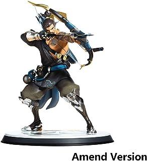 Lilongjiao Estatuas Premium Overwatch - Hanzo PVC Figura - Alto 11 Pulgadas