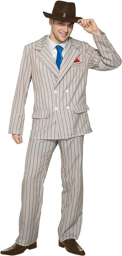 1920s Men's Costumes: Gatsby, Gangster, Peaky Blinders, Mobster, Mafia Forum Novelties Speakeasy Sam Adult Costume (XL)  AT vintagedancer.com