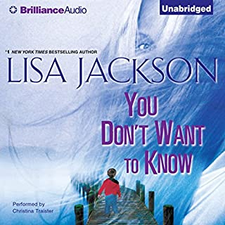 You Don't Want to Know audiobook cover art