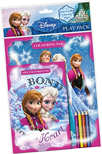 DISNEY - PLAY PACK - COLOURING PAD