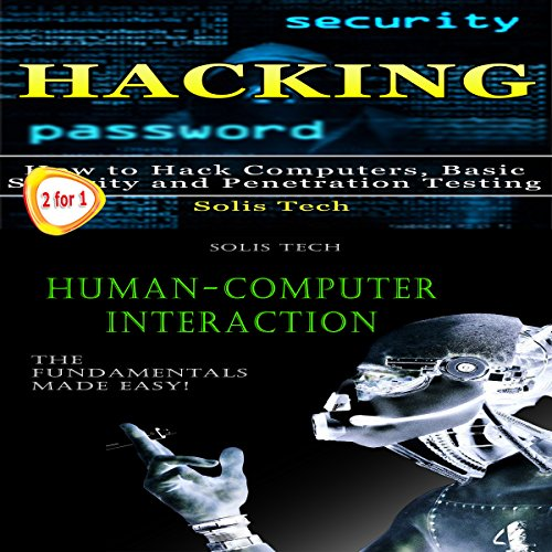 Hacking & Human-Computer Interaction audiobook cover art