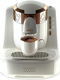 Arzum Okka Ok001 Automatic Turkish/Greek Coffee Machine, 220 – 240 V, Eu Plug White
