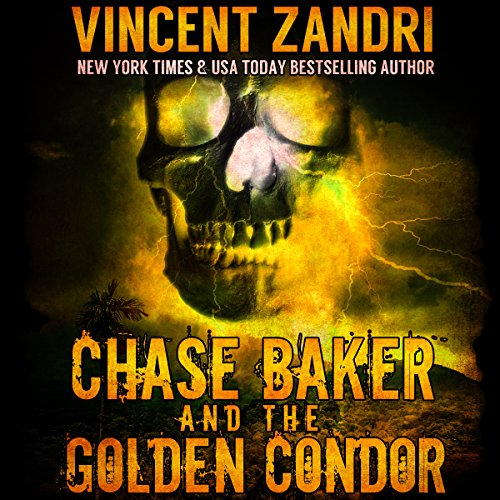 Chase Baker and the Golden Condor audiobook cover art