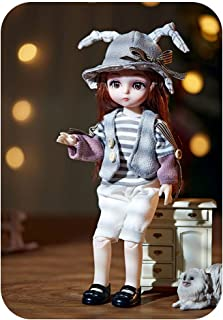 CENXIO Doll Play Sets Clothes Shoes Toys For Girls Children 5D Eyes Eyelashes Surprise Birthday Gift - 1#