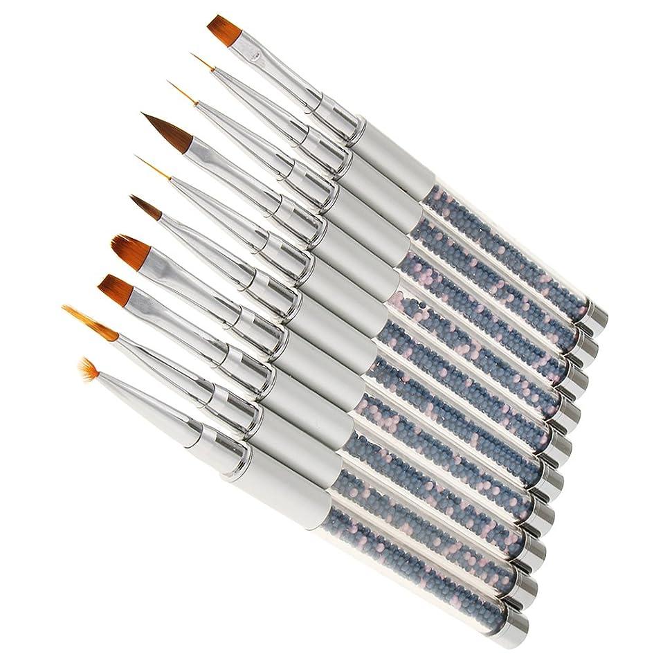 消化器回想ペネロペSONONIA 10本セット ネイルアート ブラシセット ペンセット ネイル デザイン プロ 個人用 ネイルサロン