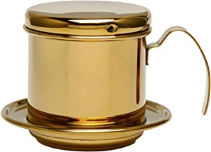Ueohitsct RVS Cup Vietnamese Koffie Druppel Filter Maker Phin Infuser