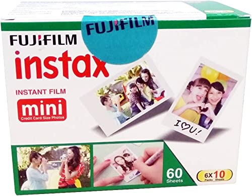 Fujifilm Instax Mini Picture Format Film - Value Pack 60 Shots Films (White) product image