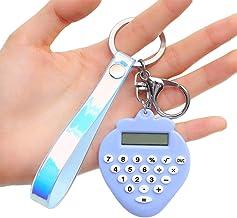 Outgeek Calculator Keychain Creative Cute Portable Charm Keychain for Decor