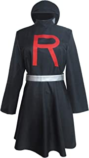 Xiao Wu Team Rocket Jessie Black Dress Outfit Clothes Cosplay Costume