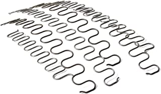 Zig zag furniture and auto upholstery oil tempered sinuous springs 9 Gauge, 10 foot length roll made in the USA