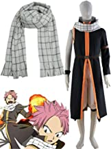 Best YOUYI Fairy Tail Natsu Dragneel Halloween Cosplay Costume andScarf Accessories Halloween Review