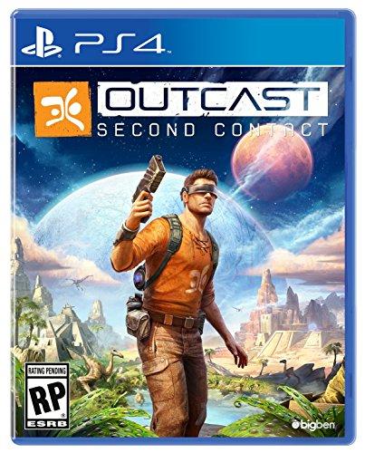 Outcast Second Contact The Official Game (PS4) - Versión Francesa