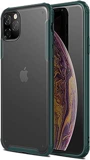 Microsonic 22449 Apple iPhone 11 Pro Max 6.5 inç Kılıf Frosted Frame Yeşil
