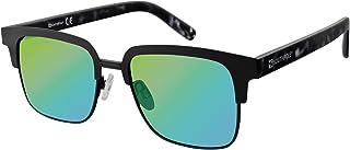 Southpole Men's 5014sp-mblk 5014SP-MBLK Square Sunglasses, Matte Black Metal, 54 mm