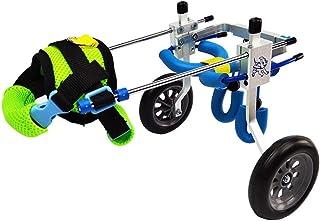 Silla de ruedas para perros, 1.5kg (3.3lbs) -50kg (110lbs