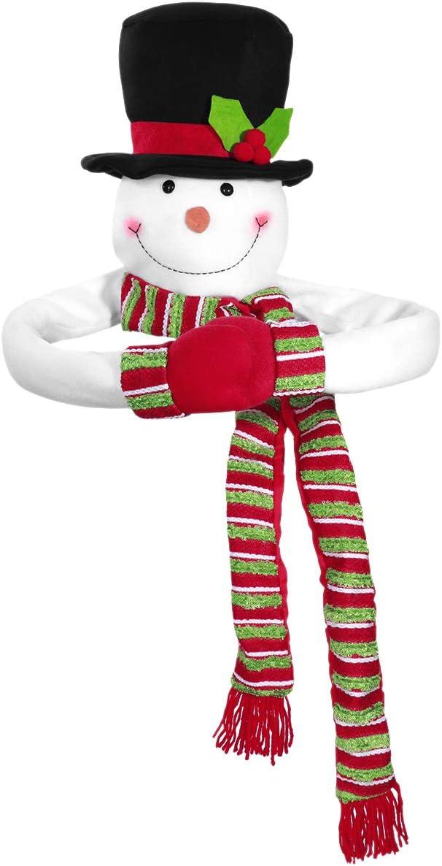 TOYMYTOY Christmas New sales Tree Topper Snowman Hugger Top o Xmas Fresno Mall