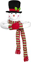 TOYMYTOY Snowman Top Christmas Tree Topper Snowman Hugger Winter Xmas Holiday Home Party Decor Ornament Supplies