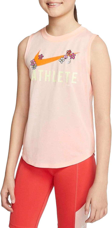 Nike Sportswear Girl's Athlete Dri-Fit Tank Top Sleeveless Shirt