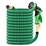 GAGALUGEC 50ft Expandable Garden Hose with 9...