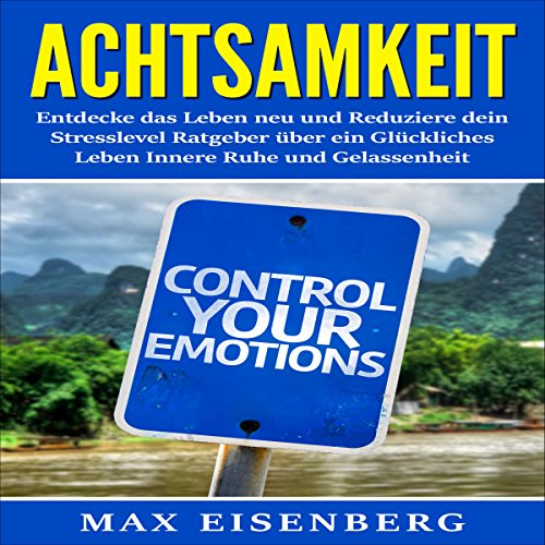 Achtsamkeit: Entdecke das Leben neu und Reduziere dein Stresslevel Ratgeber über [Mindfulness: Re-discover Life and Reduce Your Stress Level] audiobook cover art