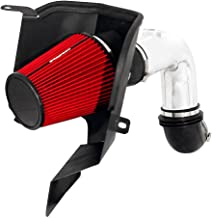 Spectre Performance Air Intake Kit with Washable Air Filter: 2003-2007 Dodge (Ram 2500, Ram 3500) 5.9L L6 Diesel, Red Oiled Filter with Polished Aluminum Tube, SPE-9938