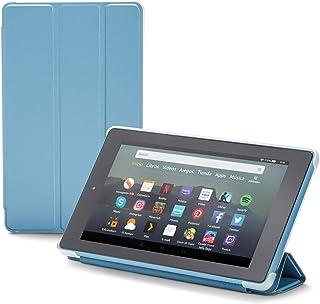 NuPro Funda con soporte y tres posiciones de pliegue para el tablet Fire 7, color turquesa