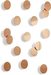 Umbra Confetti Dots Wall Décor, Set of 16, Copper