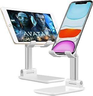 Suporte para telefone celular, suporte para telefone celular ajustável, suporte para telefone dobrável Suporte para tablet...