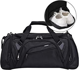 SIYUAN Sports Duffel Bag Water Resistant Athletic Gym Bag with Shoe Compartment S/M/L/XL(15-22 Inches, 32-68L)
