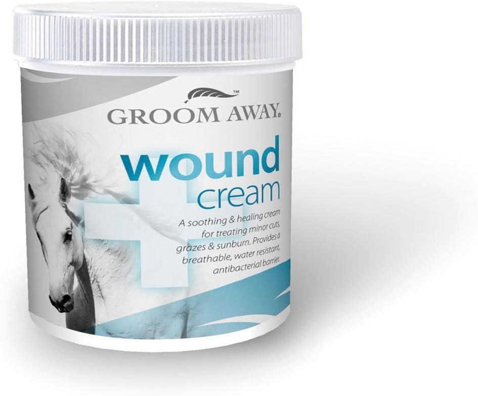 Groom Away Crema para el Cuidado de Caballos y Primeros Auxilios