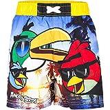 Angry Birds-Pantaloncini da nuoto con motivo stampato su Absorption. acqua a bassa resistenza a sostanze pericolose per tessuti, cloro, colore: sale marino, UVA, suntan lotion) 100% poliestere Disponibili in varie misure Abbigliamento per bambini, pr...