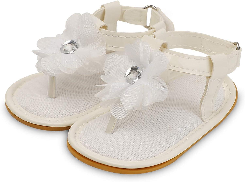 Infant Baby Girls Boys Sandals Rubber Soft Sole Premium Toddler First Walker Outdoor Summer Beach Shoes