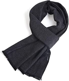 Men Cashmere Scarf Silky Warm - Cotton Scarves for Winter