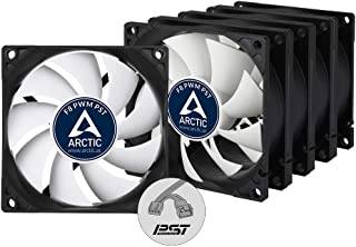 ARCTIC - 80 mm Standard Case Fan | Ultra Low Noise Cooler | Silent Cooler with Standard Case | Push- or Pull Configuration...