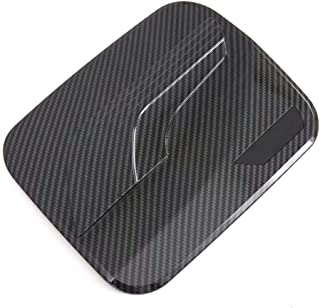 Bishop Tate Car Styling Auto Accessories Carbon Style Exterior Fuel Gas Tank Cap Decoration Cover Trim for Toyota RAV4 2019