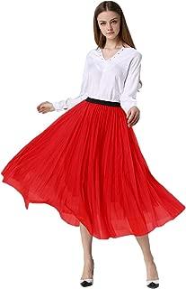 Women Retro Vintage Prom Formal Skirts Pleated Skirts Tutu Tulle Skirt