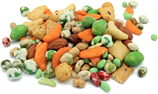 Oregon Farm Fresh Snacks Wasabi Pea Mix and Crackers - Locally Sourced and Freshly Made Wasabi Snacks Including Wasabi Pea...