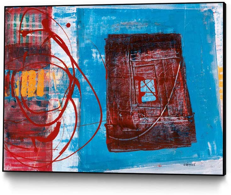 NEW Topics on TV before selling Giant Art Enthousiasme Ready-to-Hang Canvas x W Wall 30 40