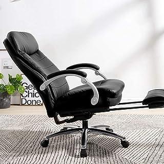 Chaise de jeu MHIBAX Chaise depatron Chaise de direction, Chaise d'ordinateur de bureau ergonomique, Chaise pivotante ...